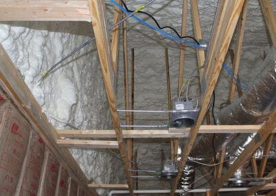 Austin Company | spray foam insulation in commercial space