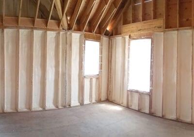 Austin Company | spray foam insulation in walls