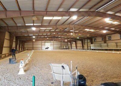 Austin Company | horse facility insulation installation